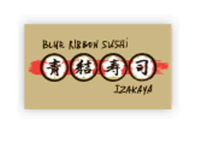 Blue Ribbon Sushi Izakaya- Dinner for Two