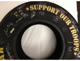 Autographed Goodyear Tire