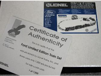 Ford Limited Edidtion Lionel Train Set (Only 7,000 Produced)