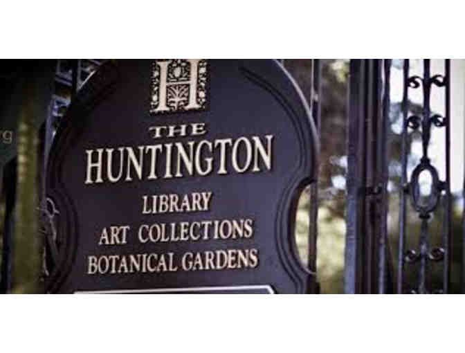 The Huntington Library Guest Passes for Two