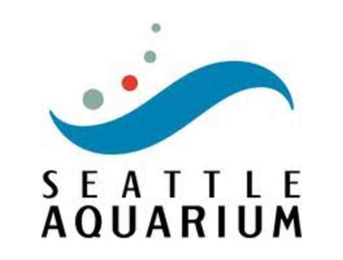 Seattle Aquarium for Four