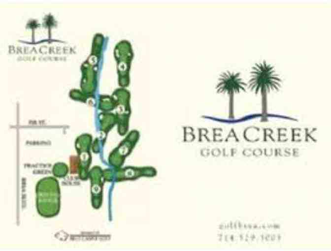 Brea Creek Round of Golf for FOUR!