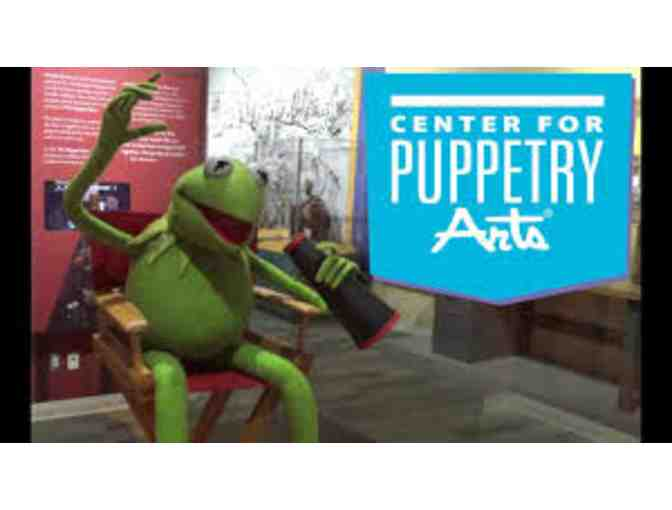 Atlanta Center for Puppetry Arts for Four!