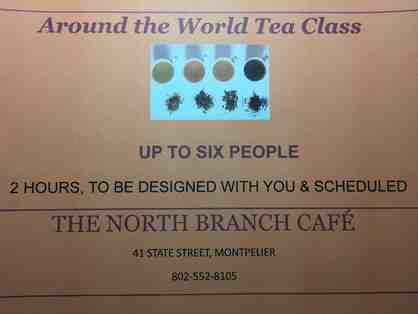 Around the World Tea Class