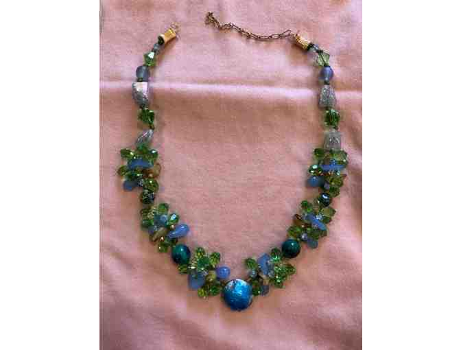 Necklace Limouge Blue/Green