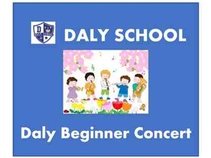 DALY Beginner Concert - two front row tickets