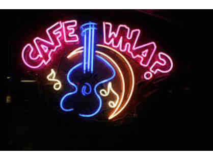 MUSIC LOVERS NIGHT OUT - 4 seats at Cafe Wha (including a full bottle liquor)