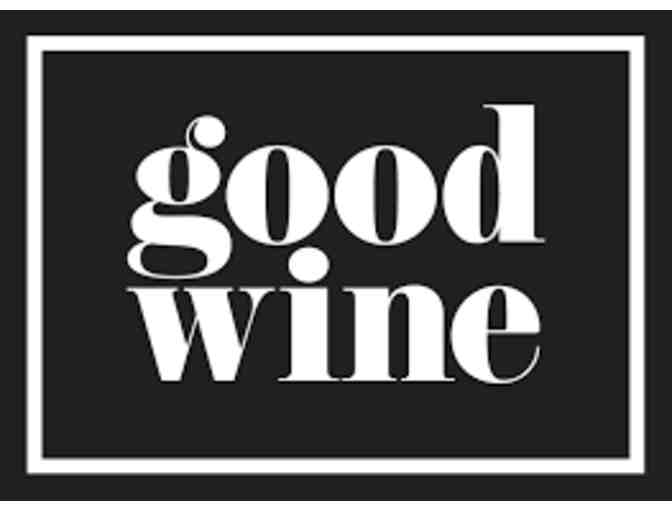 Good Wine  - $25 Gift Card
