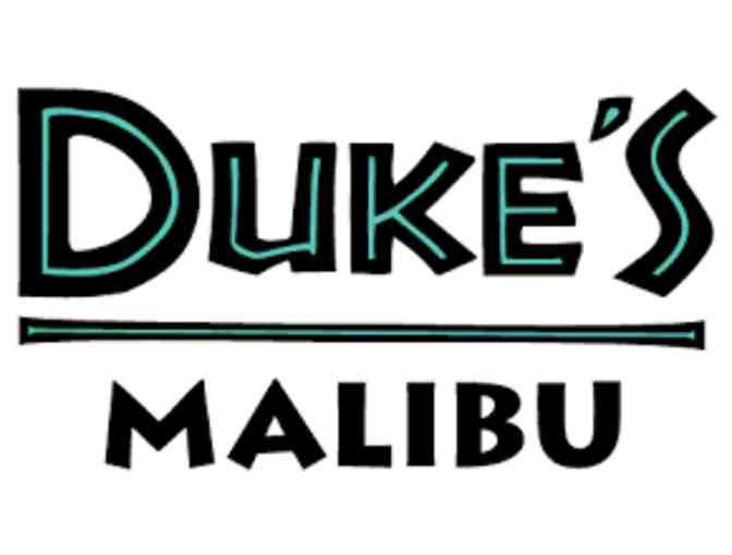 $100 Gift Card - Duke's Malibu Restaurant - Photo 1