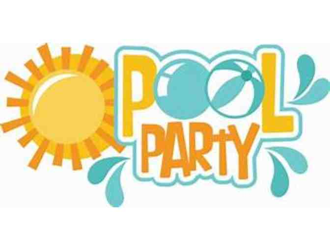 Father Daughter Pool Party VIP Package