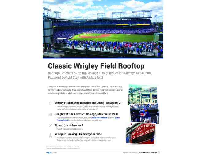 CLASSIC WRIGLEY FIELD ROOFTOP EXPERIENCE - Photo 1