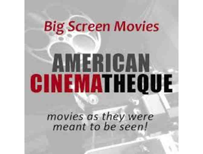 1-year Friend Level membership to the American Cinematheque - Photo 1
