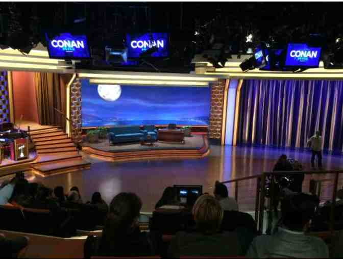 Enjoy 4 VIP tickets to a Live Taping of Conan! - Photo 4