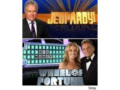 Wheel of Fortune & Jeopardy VIP Tickets with Swag