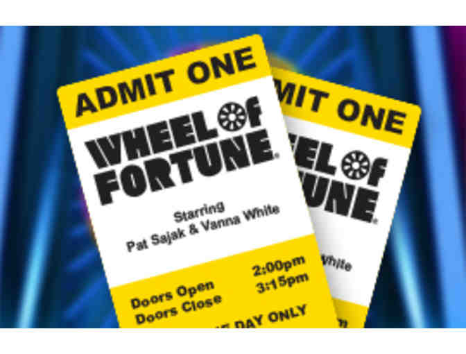 Wheel of Fortune & Jeopardy VIP Tickets with Swag - Photo 5