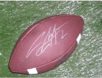 Charles Woodson autographed Michigan Football