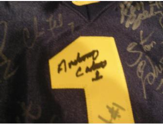 'THE JERSEY' - Michigan jersey signed by 57 Michigan football greats!