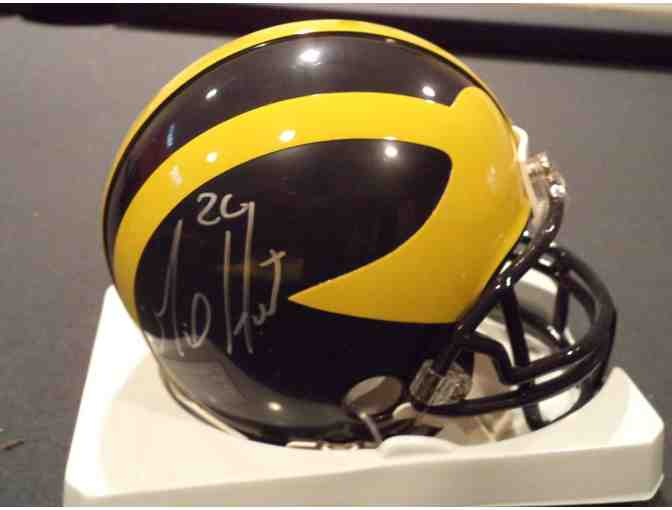 Mike Hart autographed University of Michigan mini-helmet