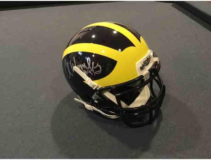 Chris Wormley autographed Michigan mini-helmet