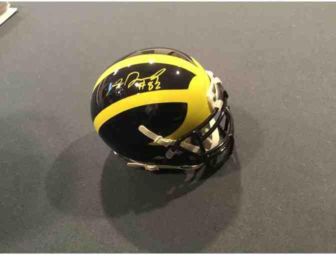 Amara Darboh autographed Michigan mini-helmet