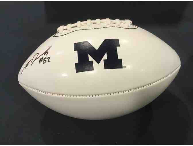 Amara Darboh autographed Michigan football