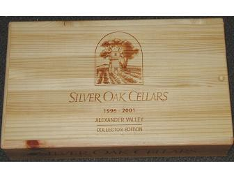 Six Bottle Collector's Edition of Silver Oak Cellars Cabernet Sauvignon