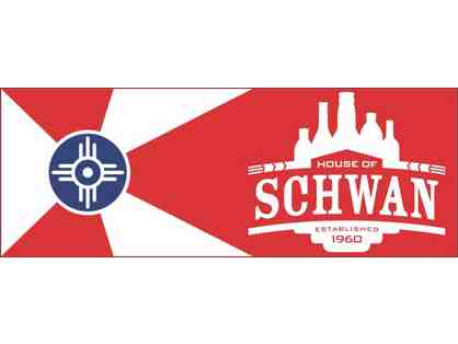 Party at House of Schwan with 20 of your friends!
