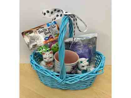 Cat Themed Basket