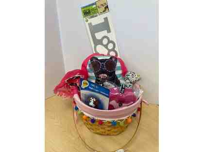 Children's Dog Themed Basket