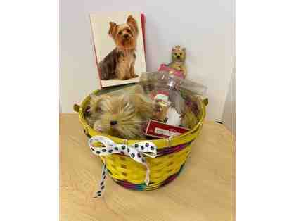 Dog Themed Basket