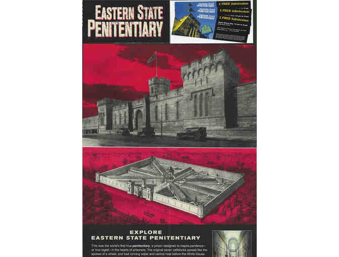 Eastern State Penitentiary - 3-pack of admission tickets - Photo 1
