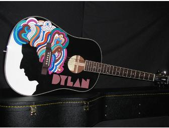 Hand-Painted Epiphone Acoustic Guitar