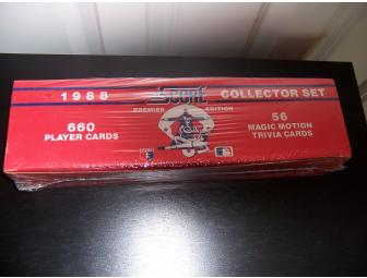 1988 Score Premium Edition Collector Set, 660 Player cards, 56 Magic Motion Trivia Cards