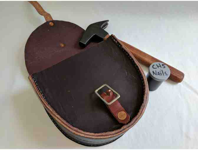 Handcrafted Horse Shoe Bag