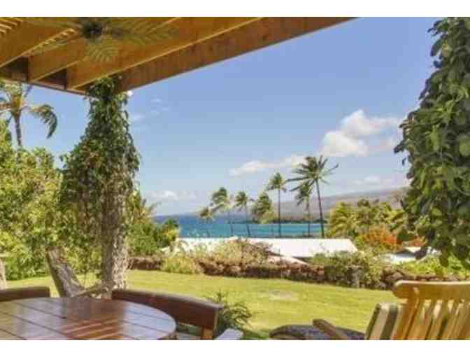 1 Week Hawaii Cottage Rental with Ocean View