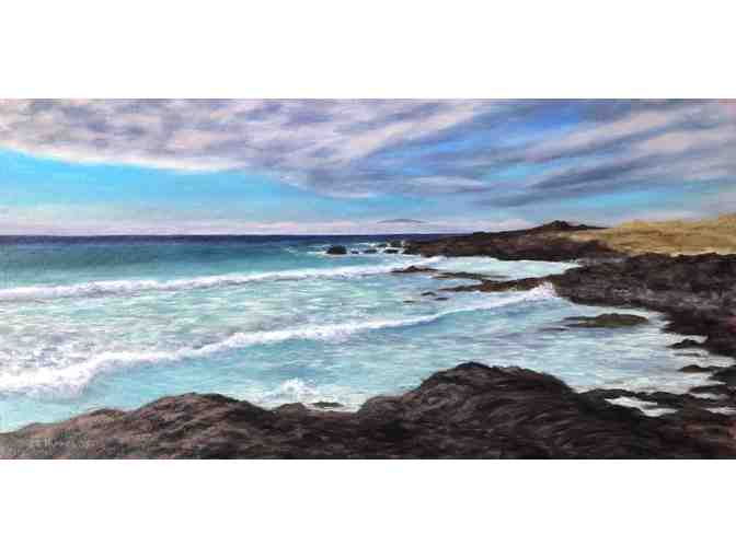 'Kua Bay' Original Oil Painting by Lisa Hummel
