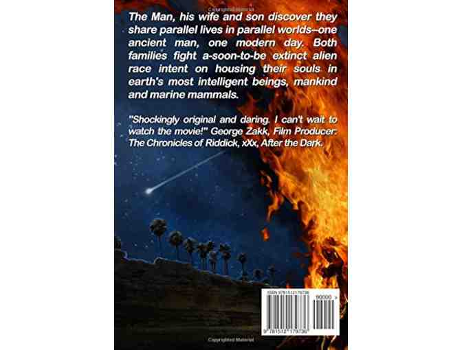 'The Man: Invaders of the Parallel Soul' - Julius Robinson, Autographed Copy (Book One)