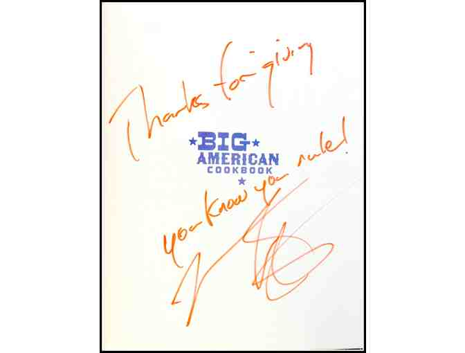 Mario Batali's Big American Cookbook: Autographed Copy