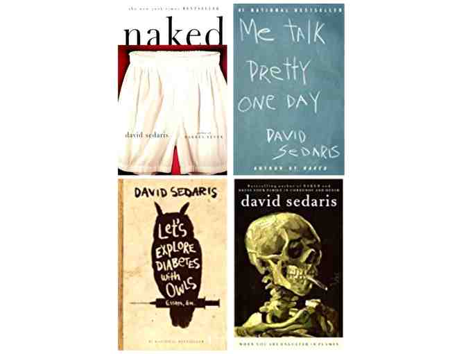 David Sedaris: Autographed 4 Book Set