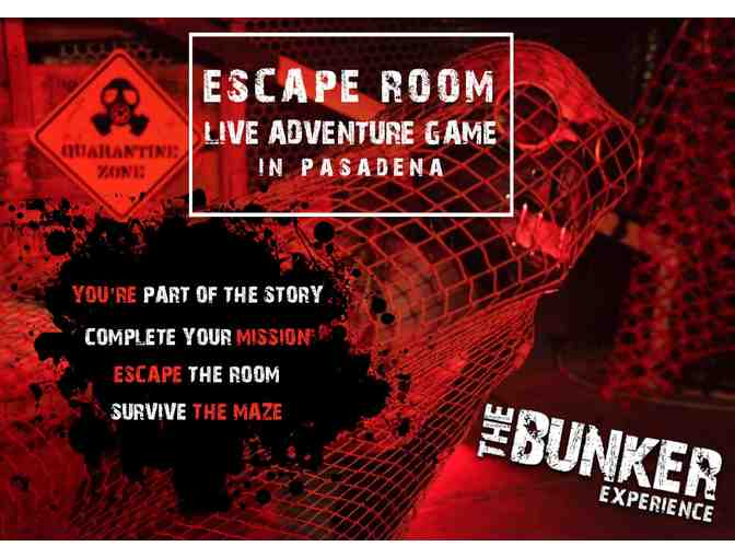 The Bunker Experience: Immersive Interactive Experience, 2 Tix