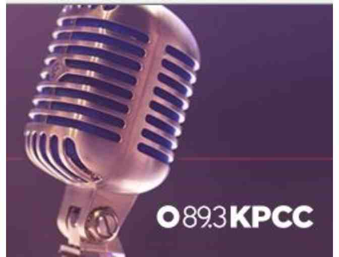 2 Hour Private Voice-over Lesson w/ KPCC Production Expert & your own produced audio file)