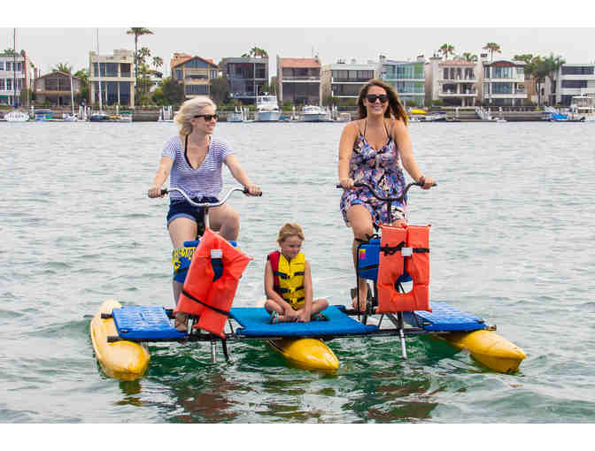 Long Beach WaterBikes: 1 Double Waterbike Ticket
