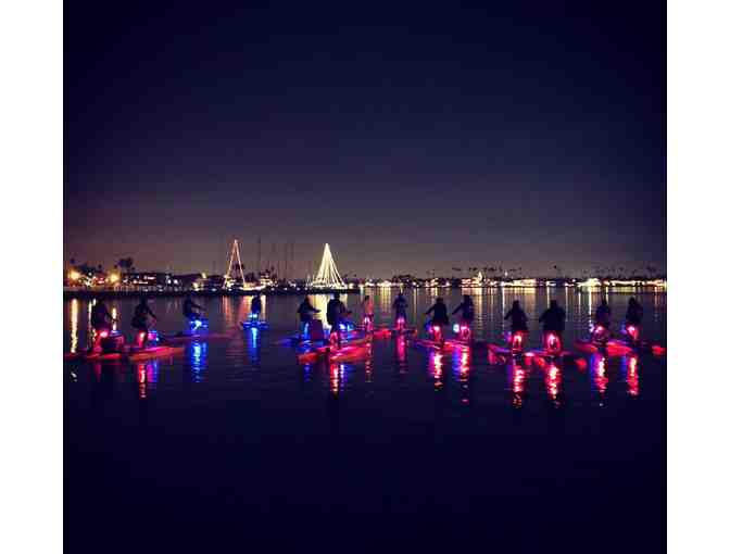 Long Beach Waterbikes: 4 Glow Ride Tickets (LED light night Hydrobike)