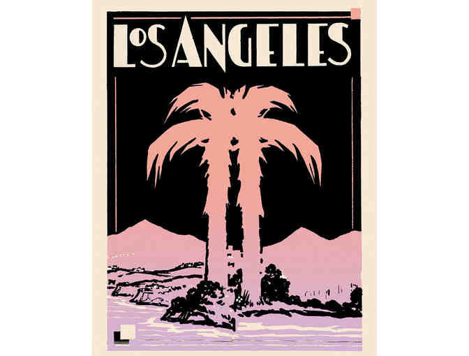 Capricorn Press: Art Deco Los Angeles Print