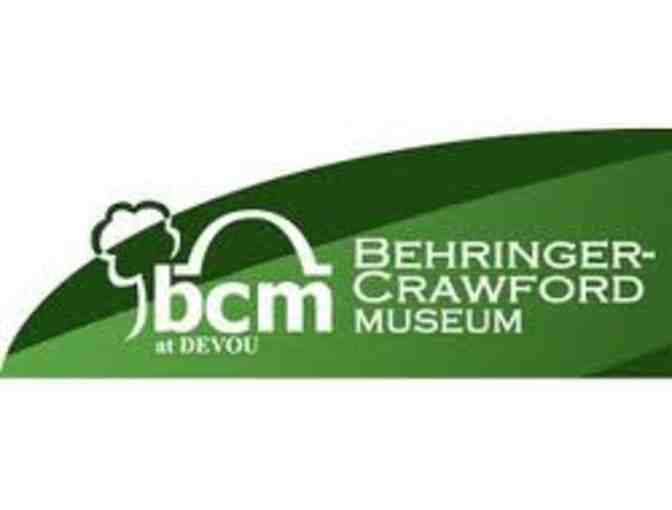 4 Admission Tickets to Behringer-Crawford Museum in Devou Park