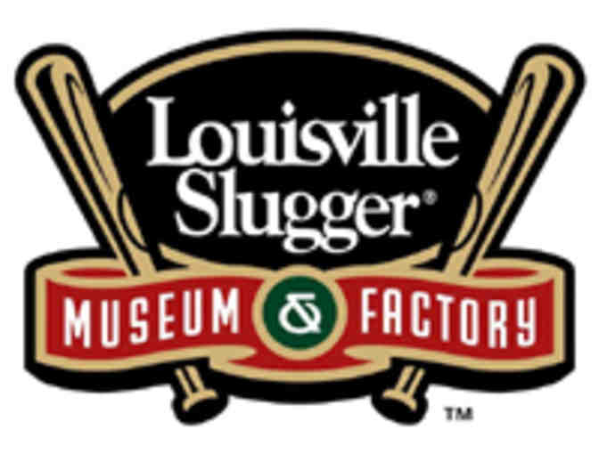 4 Admission Tickets to the Louisville Slugger Museum