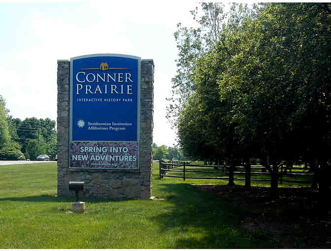 Family 4-pack tix to Conner Prairie Interactive History Park