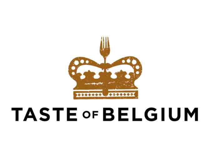 $50 Taste of Belgium Gift Card and assorted goodies