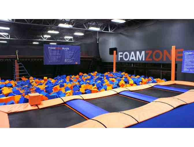 Two BOGO Free Coupons for Sky Zone Cincinnati