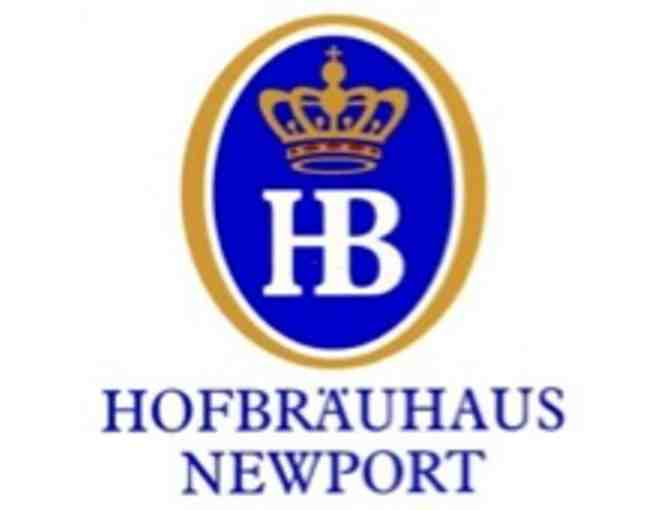 Hofbrauhaus: Gift Basket - 2 beer steins and 2 gift certificates for an entree